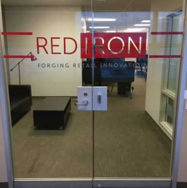 thumb slider and internal sign interior signage architectural solutions branding building systems